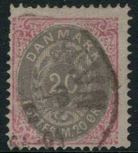 Denmark #31 CV $32.50 postage stamp