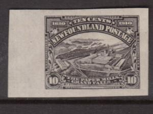 Newfoundland #101a XF Mint Imperforate With Huge Margins