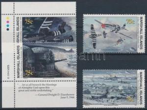 Marshall Islands stamp World War II (LXXIV) set MNH 1994 Mi 517-520 I WS163602