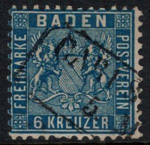 Baden #16  CV $235.00