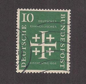 GERMANY SC# 744 F-VF U 1956