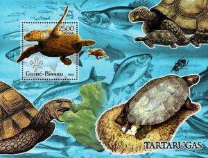 Guinea-Bissau -Turtles Stamp Souvenir Sheet 5403b