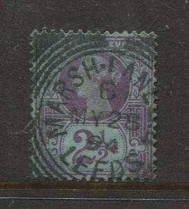 STAMP STATION PERTH:Great Britain - #114 QV Definitive 1887 VFU CV$?