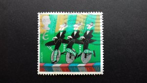 Great Britain 2002 EUROPA Stamps - The Circus Used