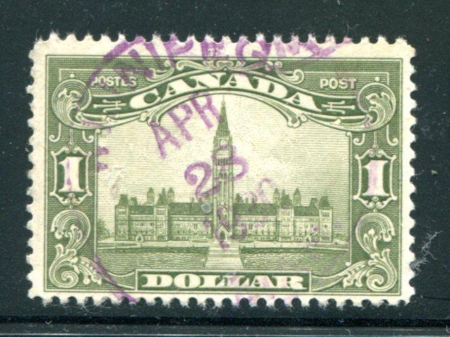 Canada #159 Used F-VF  purple CDS