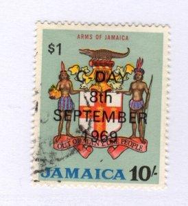 Jamaica #290 Used CAT VALUE $6.50