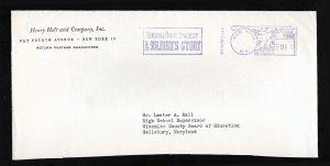 PRECANCEL SEC. 34.66 P. L. & R. 3RD CLASS RATE SOLDIER'S STORY OMAR BRADLEY 1951