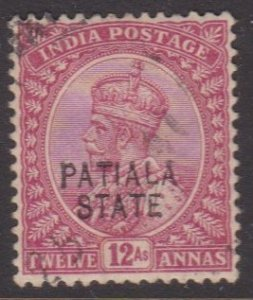 India: Patiala #51 used
