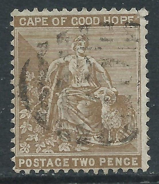 Cape of Good Hope, Sc #35, 2d Used