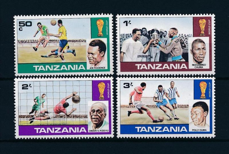 [60733] Tanzania 1978 World Cup Soccer Football Argentina MNH