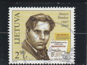 Lithuania  Scott#  969  Used
