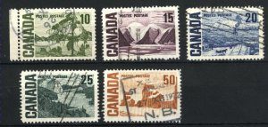 Can #462-65,465A    u   VF 1967 PD