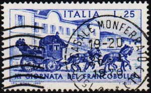Italy. 1969 25L S.G.1250 Fine Used