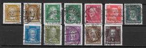 Germany 351-62 Men set Used (z2)