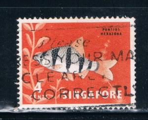 Singapore  54 Used Tropical Fish (S0273)