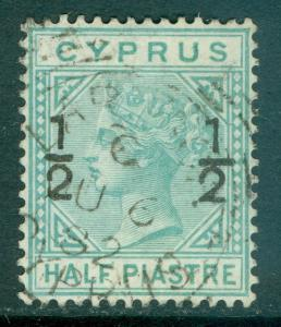 CYPRUS : 1882. Stanley Gibbons #23 Very Fine, Used. Choice stamp. Catalog £75
