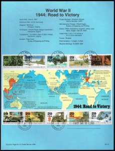 US #SP1070 (2838) World War II (5Stars)