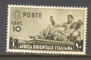 Italian East Africa Sc # 4 mint never hinged
