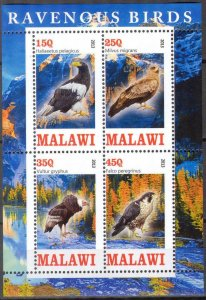 Malawi 2013 Ravenous Birds (2) MNH Cinderella !