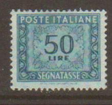 Italy #J76 Used