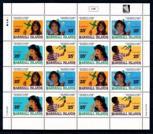 [68469] Marshall Islands 1990 Children's Games Full Sheet MNH