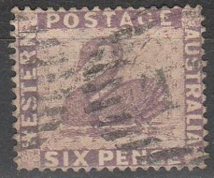Western Australia #39 F-VF Used  CV $6.50 (A16713)