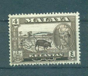 Malaya - Kelantan sc# 86 used cat value $1.00