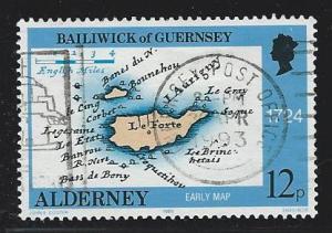 Alderney  used s.c.#  37