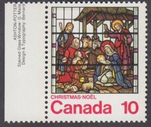 Canada - #698 Christmas - MNH