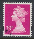 Great Britain SG Y1708 Sc# MH228    Used with first day cancel - Machin 39p