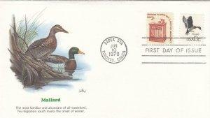 1978, Mallard, Fleetwood, Unaddressed, FDC (D7557)
