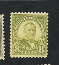 U.S. #560 MINT F-VF OG NH Cat $80