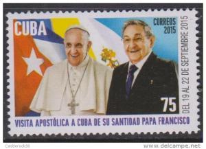 O) 2015 CUBA-CARIBE, VISIT POPE FRANCISCO - JORGE MARIO BERG