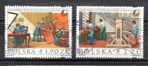 Poland 3600-3601 used