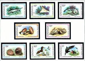 Grenada 933-40 MNH 1979 Marine Wildlife  (KA)