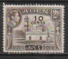 1951 Aden - Sc 37 - used VF - single - George VI - Aidrus Mosque