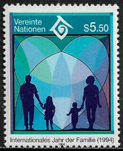 UN, Vienna #160 MNH Stamp - Year of the Family