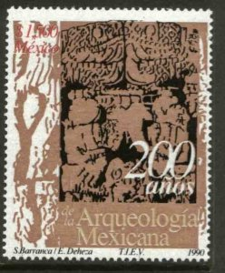 MEXICO 1669, BICENTENNIAL OF MEXICAN ARCHEOLOGY. MINT, NH. VF. (69)