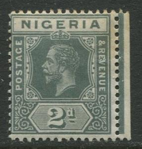 Nigeria -Scott 3a - KGV Definitive -1914 - MLH - Single 2p Stamp