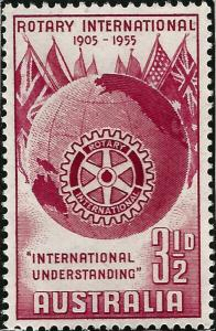 Rotary International Australia 278 MNH F-VF...High Quality Collectable!