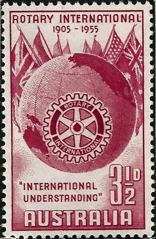 Rotary International Australia 278 MNH F-VF...High Quality Collectable!