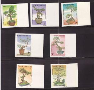 Viet Nam Scott 1633-1639 Unused NGA  Imperforate stamp set