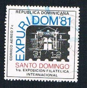Dominican Republic Horse half cent - pickastamp (AP104204)