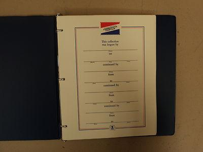 USPS Commemorative Stamp Club Album 132 Stamps 1984 1985 ...