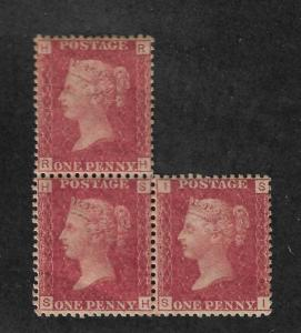 Great Britain Scott # 33 PL 215 mint never hinged nice color ! scv$300 see pic !
