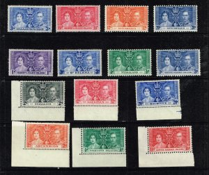 UK STAMP 1937 Coronation ISSUE COLLECTION LOT MNH/OG STAMPS LOT