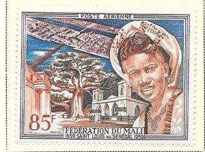 Republic of Mali #C1  85fr  Federation  (MH) CV $2.10