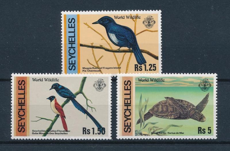 [60052] Seychelles 1978 Birds Vögel Oiseaux Ucelli Turtle from set MLH