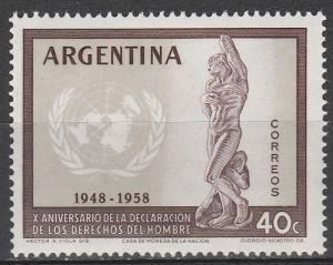 Argentina #679 MNH (S2905L)