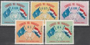 Paraguay #569-71, C272-3  MNH VF (V2763L)